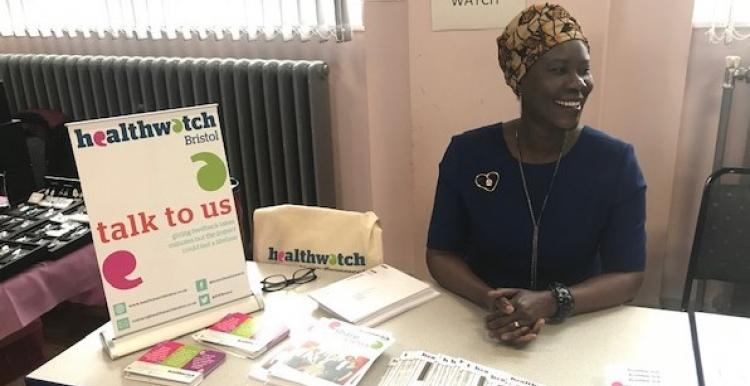 Dr Acomo Oloya, Area Lead for Bristol Healthwatch