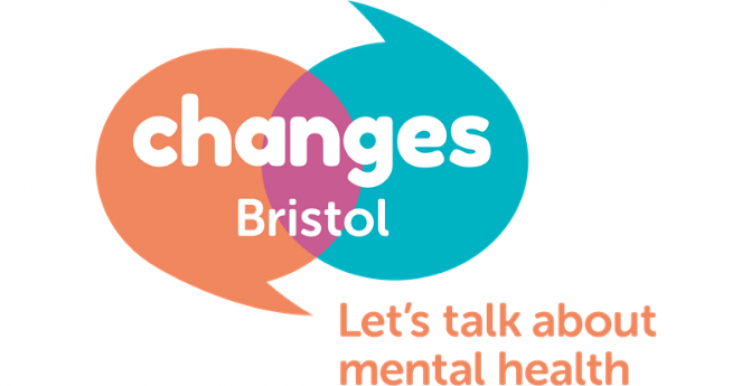 Changes Bristol logo. Text reads: Let's talk about mental health