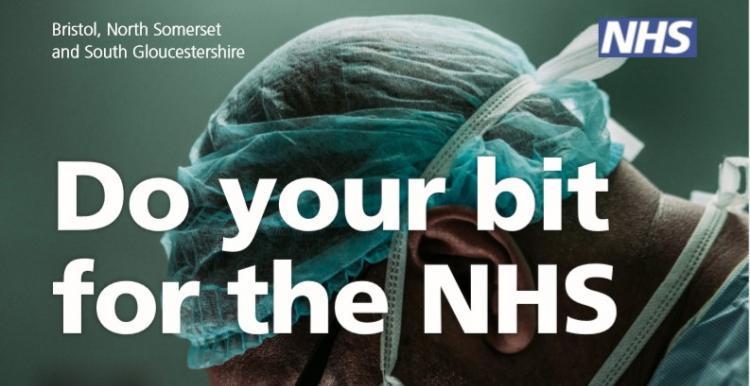 Do your bit for the NHS