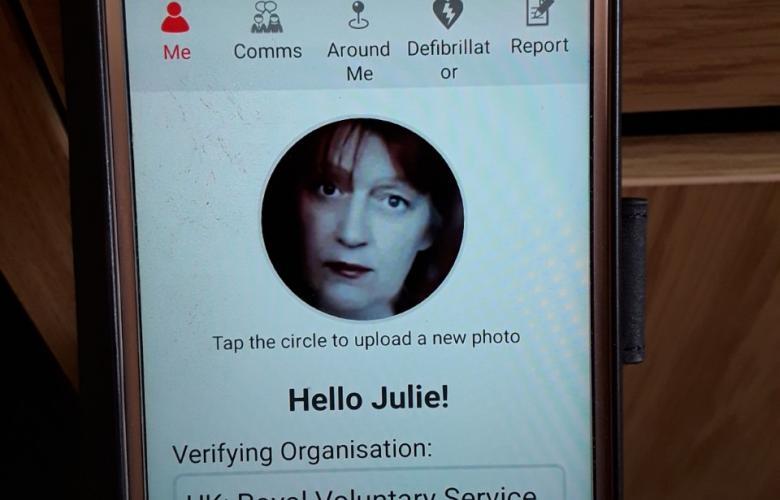 Julie NHS Responder